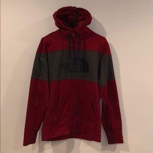 NorthFace Zip-up hoodie